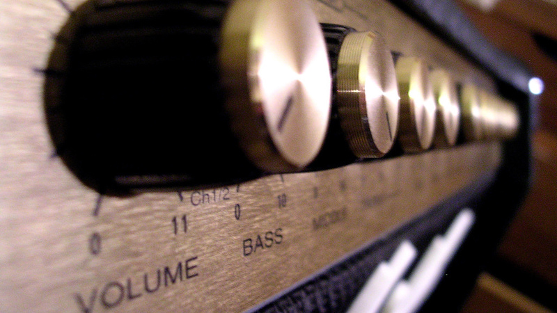 Spinal Tap's 11 knob