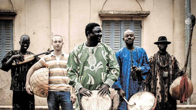 picture of the Malian band BKO Quintet