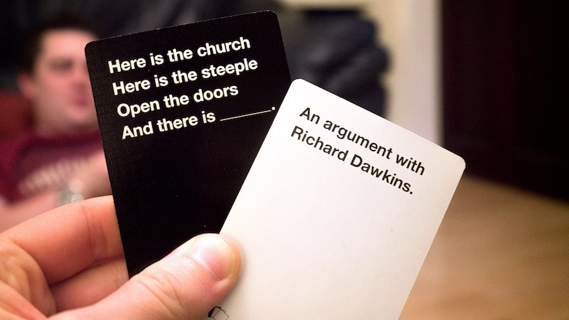 image: picture of Cards Against Humanity cards