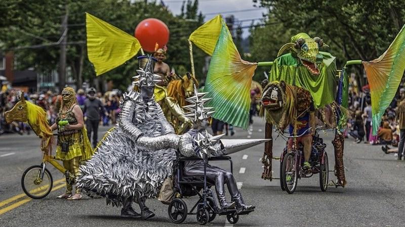 Fremont Solstice Parade - Sat. 1:00