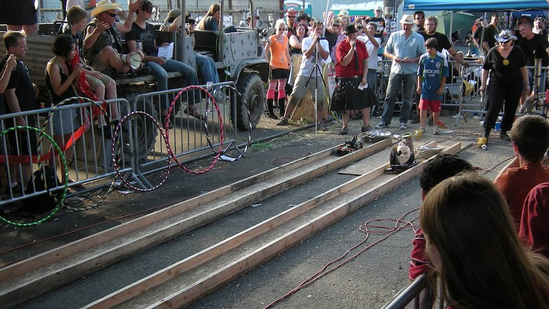 power tool races at Georgetown Carnival