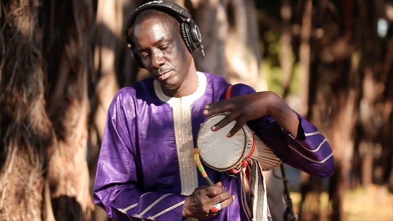 picture of Massamba Diop, creator of the music in the Black Panther movie