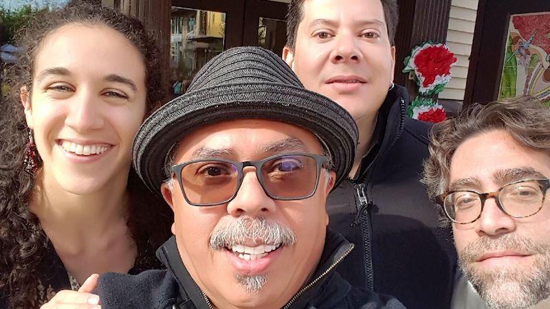 photo of members of Seattle-based Venezuelan band Mochima