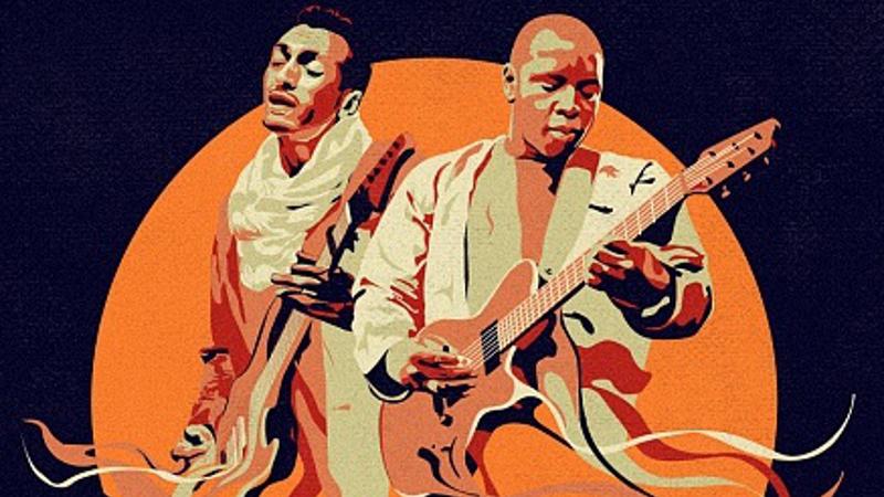 image: promo photo of Farka Touré & Bombino: Sons of the Sahara
