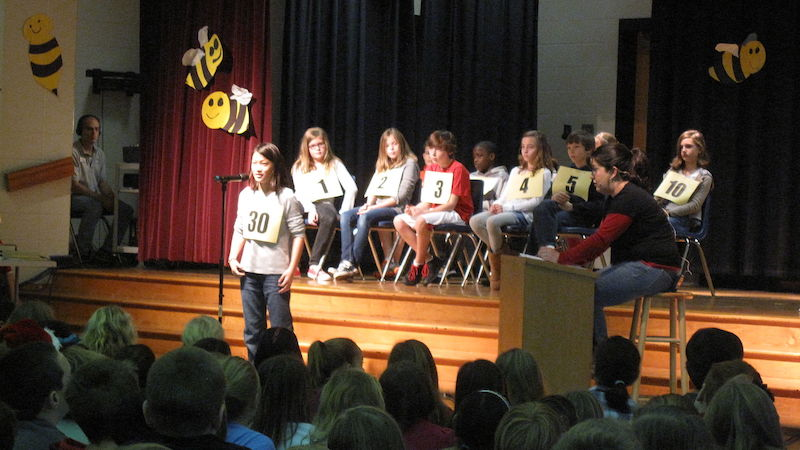 King-Snohomish County Regional Spelling Bee, Sun. March 25