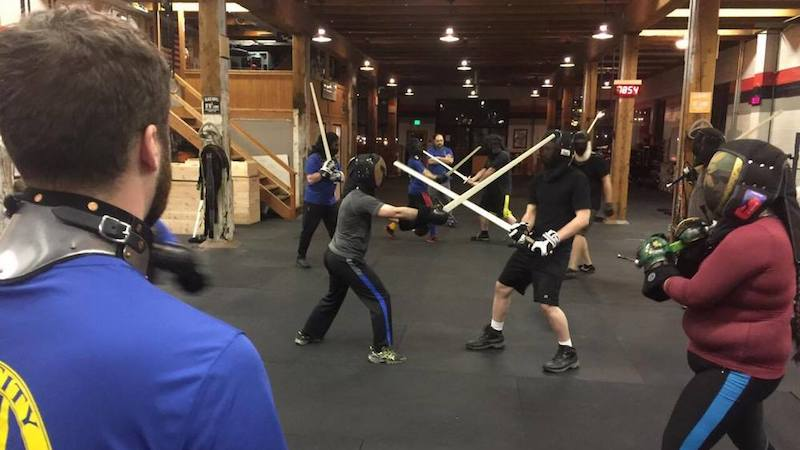 Swordsquatch - Fri. through Sun. - fight your friends!