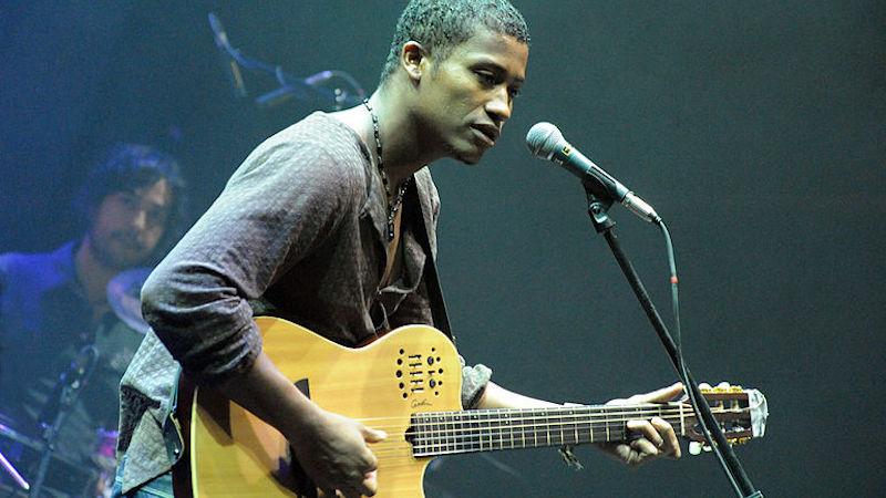 Cape Verdean singer Tcheka
